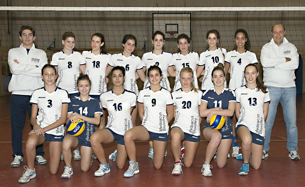 Under 16 Medoacus Bluvolley 2012 / 2013
