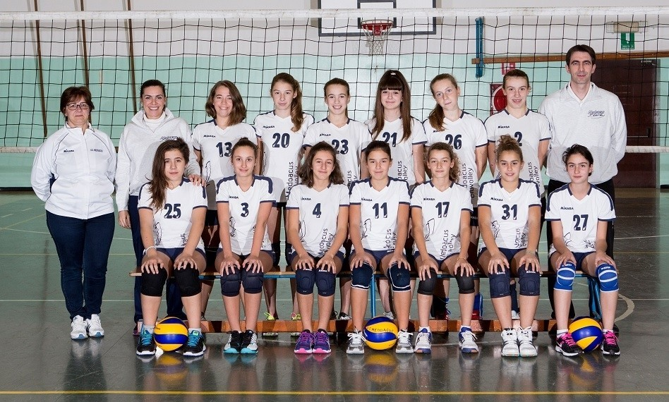 Under 13 Medoacus Bluvolley 2014 / 2015