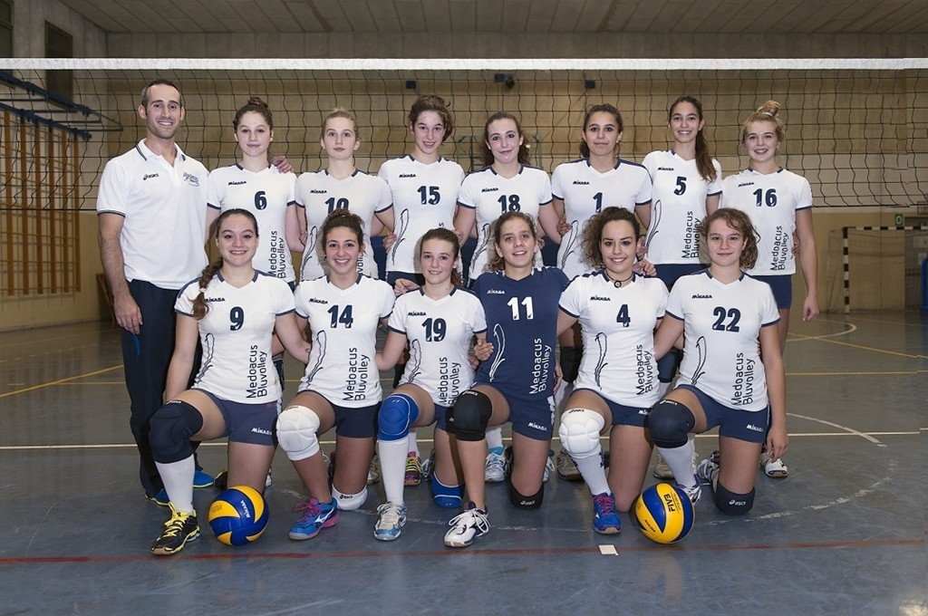 Under 16 Medoacus Bluvolley 2014 / 2015