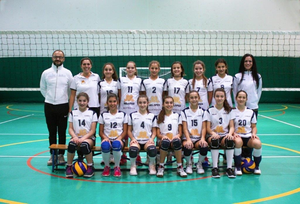 Under 13 MedoVolley ANTENORE ENERGIA 2018 / 2019