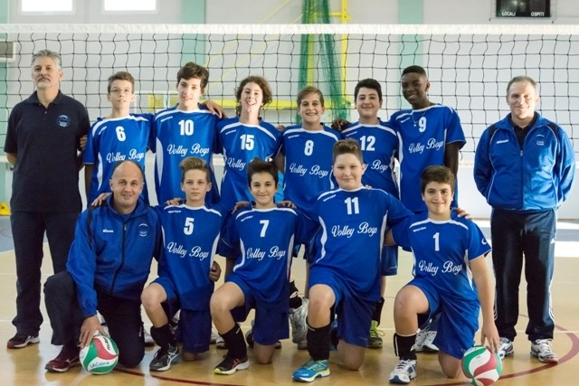 UNDER 14 MASCHILE Volley Boys 2014 / 2015