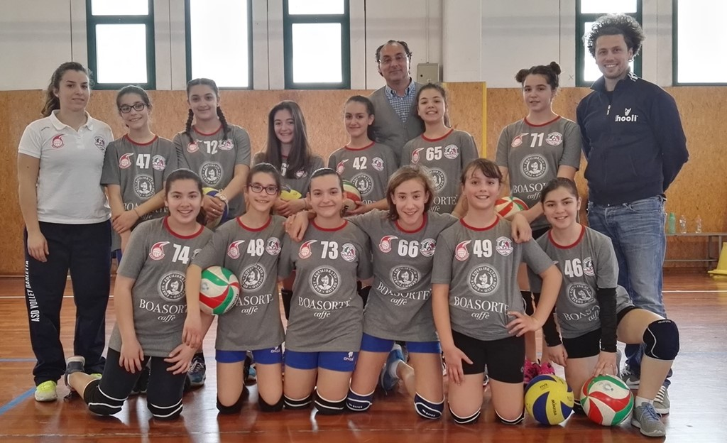 Under 13 ASD VOLLEY BIANCA 2016 / 2017