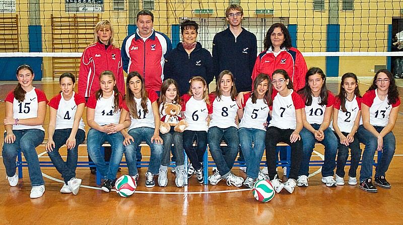 U13/F - TEAM VOLLEY 2007 B 2009 / 2010