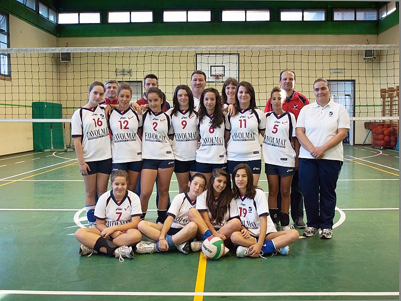 U16/F Red - FAVOLMAT 2011 / 2012