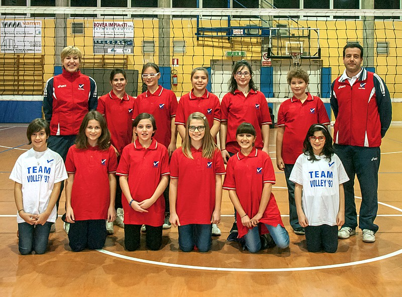 U12/F 6x6 - TEAM VOLLEY 2012 / 2013