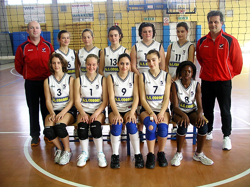 U14/F - TEAM VOLLEY 2012 / 2013