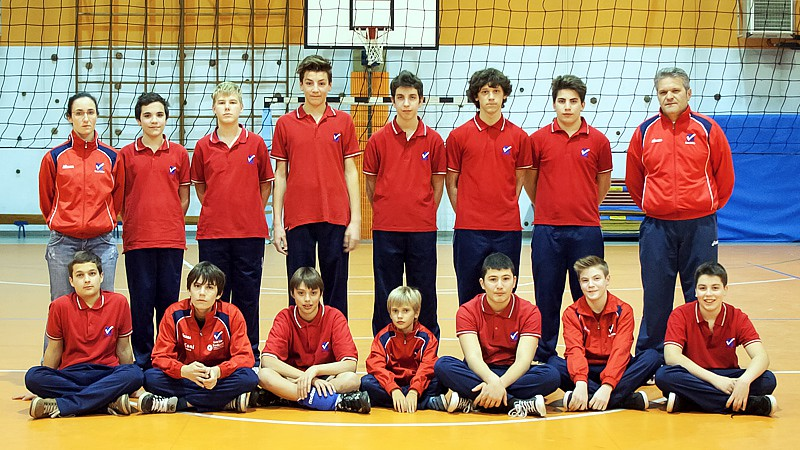 U15/M - TEAM VOLLEY 2012 / 2013