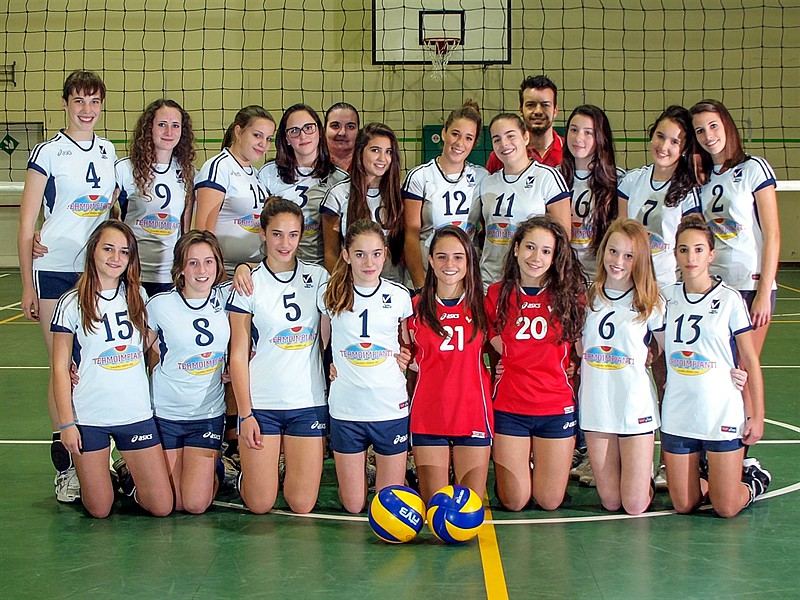 U16/F Red - TEAM VOLLEY 2012 / 2013
