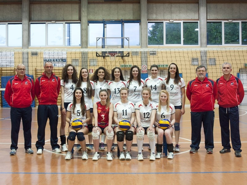 U18/F Blue - TEAM VOLLEY 2013 / 2014