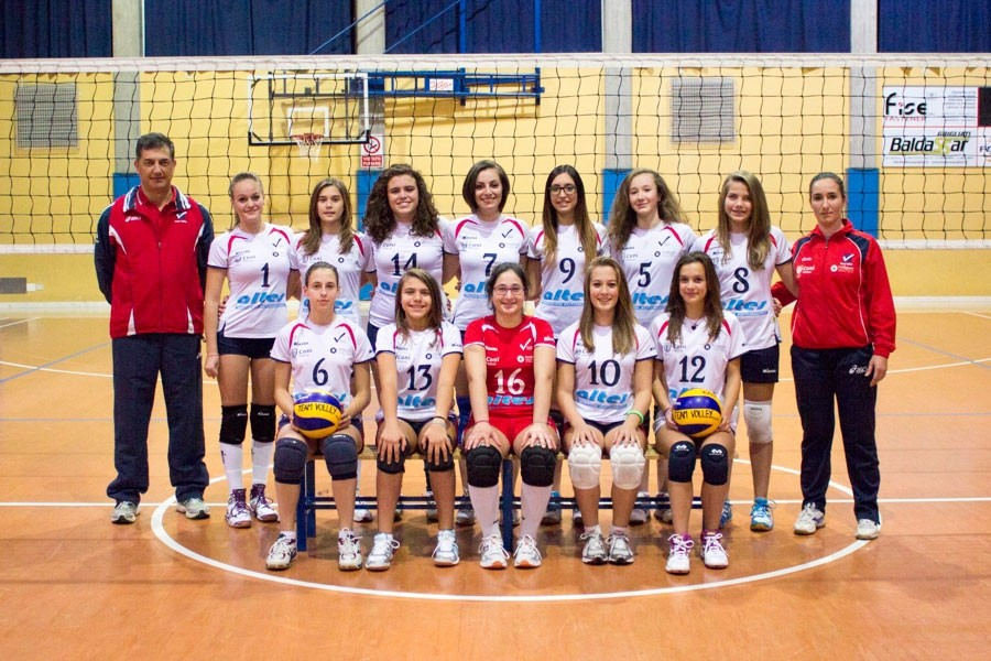 U16/F - TEAM VOLLEY 2014 / 2015