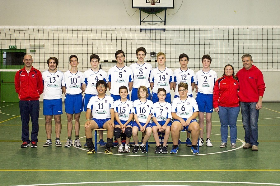 U17/M - TEAM VOLLEY 2014 / 2015
