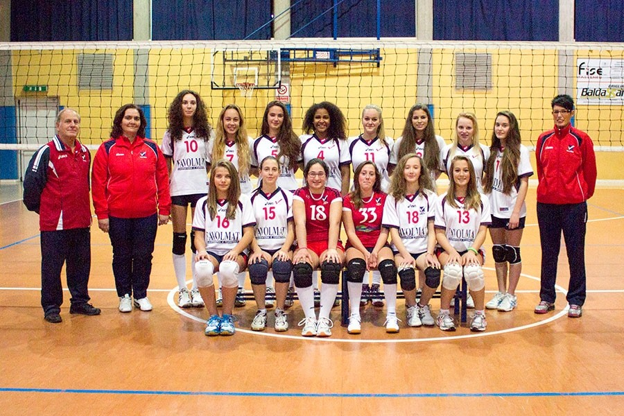 U18/F Red - TEAM VOLLEY 2014 / 2015
