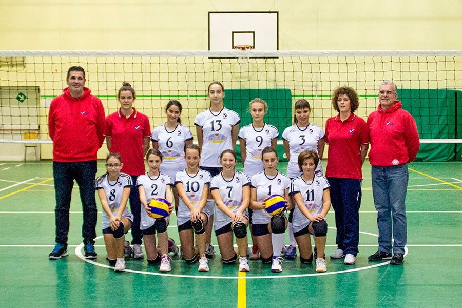 U14/F Blue - TEAM VOLLEY 2015 / 2016