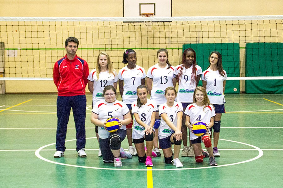 U14/F Red - TEAM VOLLEY 2015 / 2016