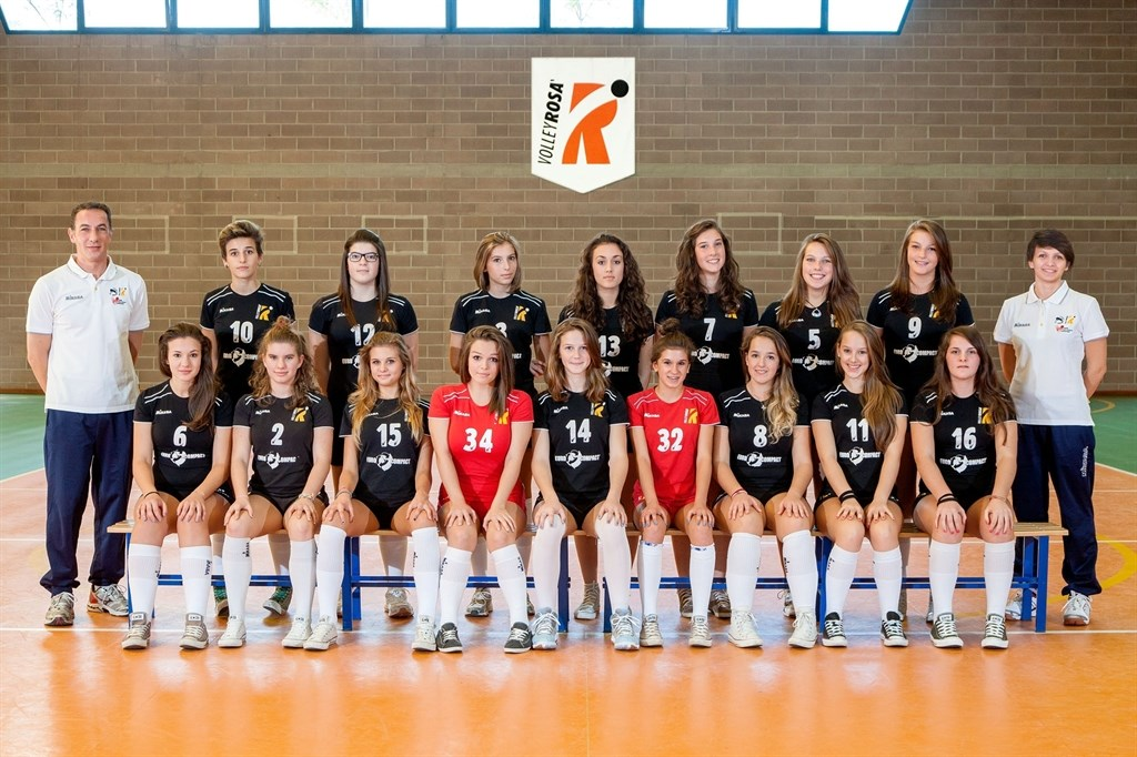 UNDER 16 A FEMMINILE VOLLEY ROSA' 2013 / 2014