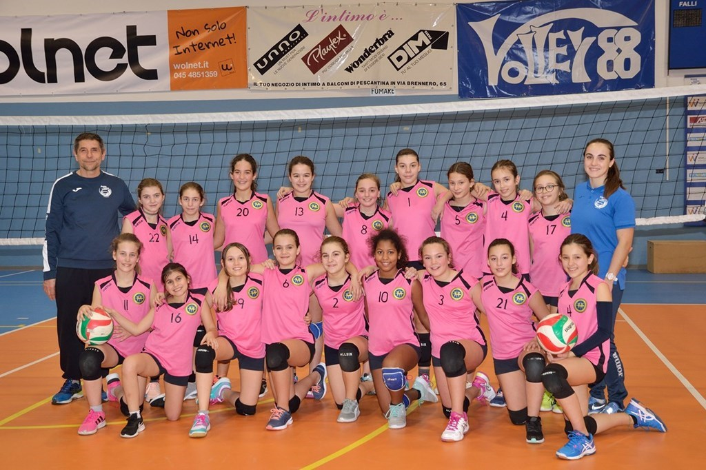 U12 BUSS.VOLLEY ROSA AVTV 2019 / 2020