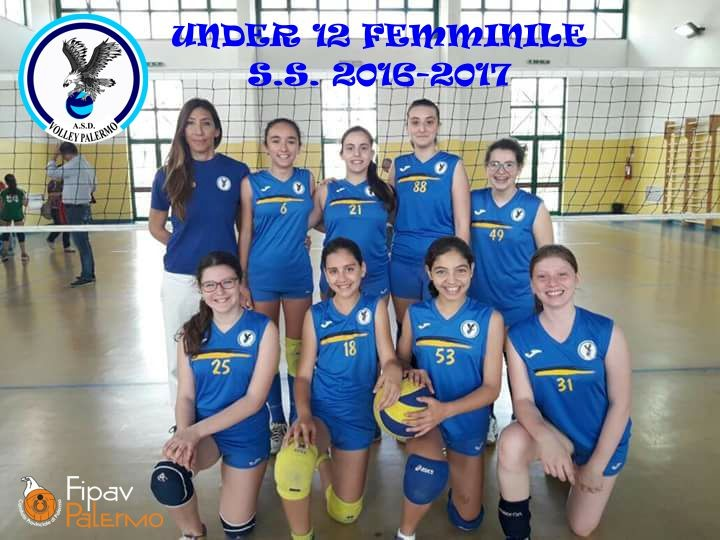 VOLLEY PALERMO U12F 2016 / 2017