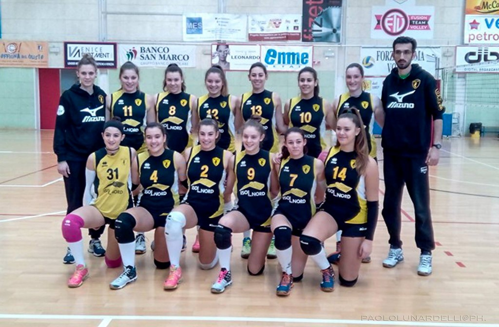 U16 - Sea Stars Union Volley 2015 / 2016