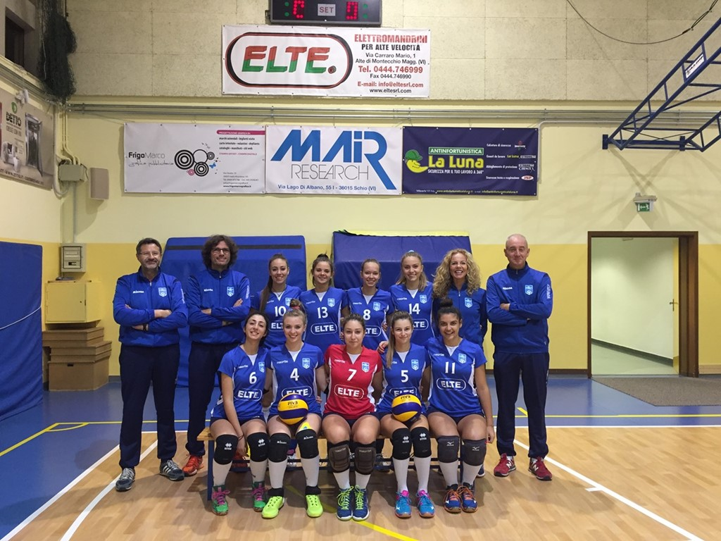 UNDER 18 ELTE Costabissara 2016 / 2017
