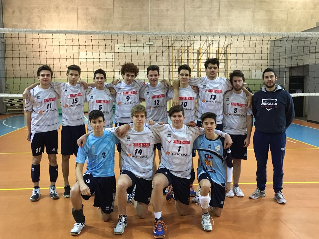 MONTEVOLLEY U19M/3DM 2015 / 2016