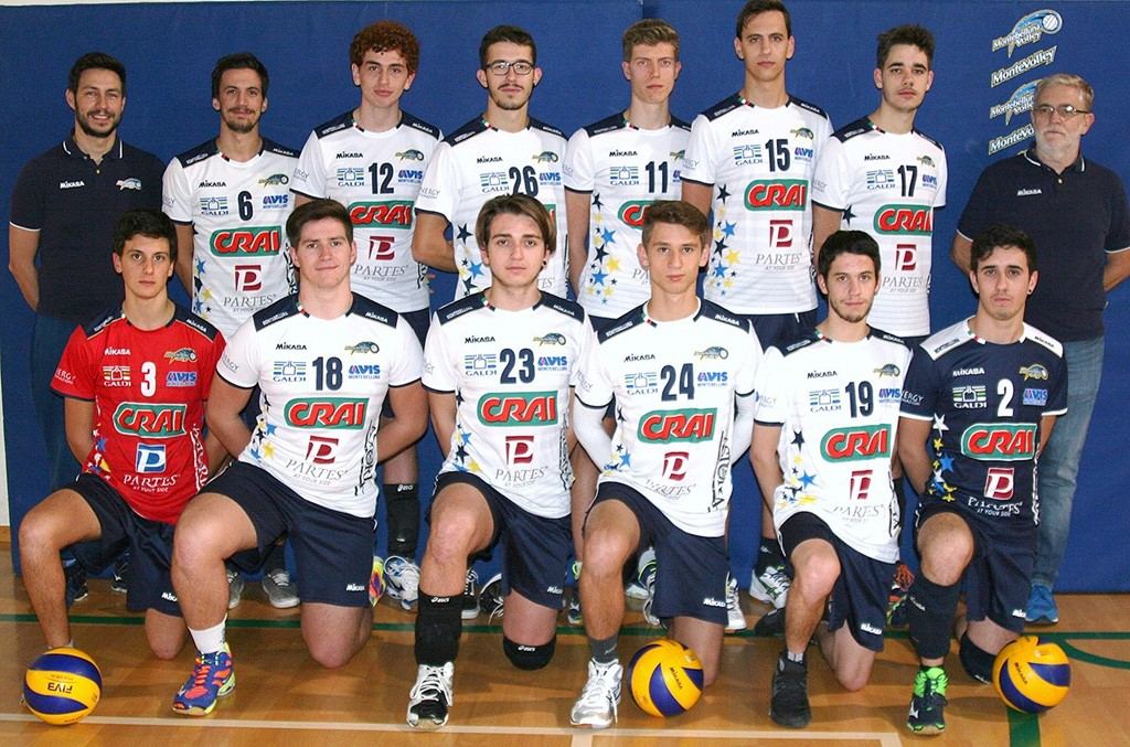 MONTEVOLLEY 1DM 2017 / 2018