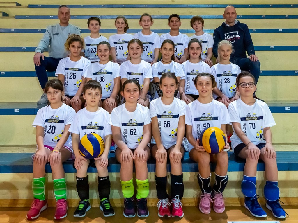 MONTEVOLLEY U12 MIX - BIANCA 2019 / 2020