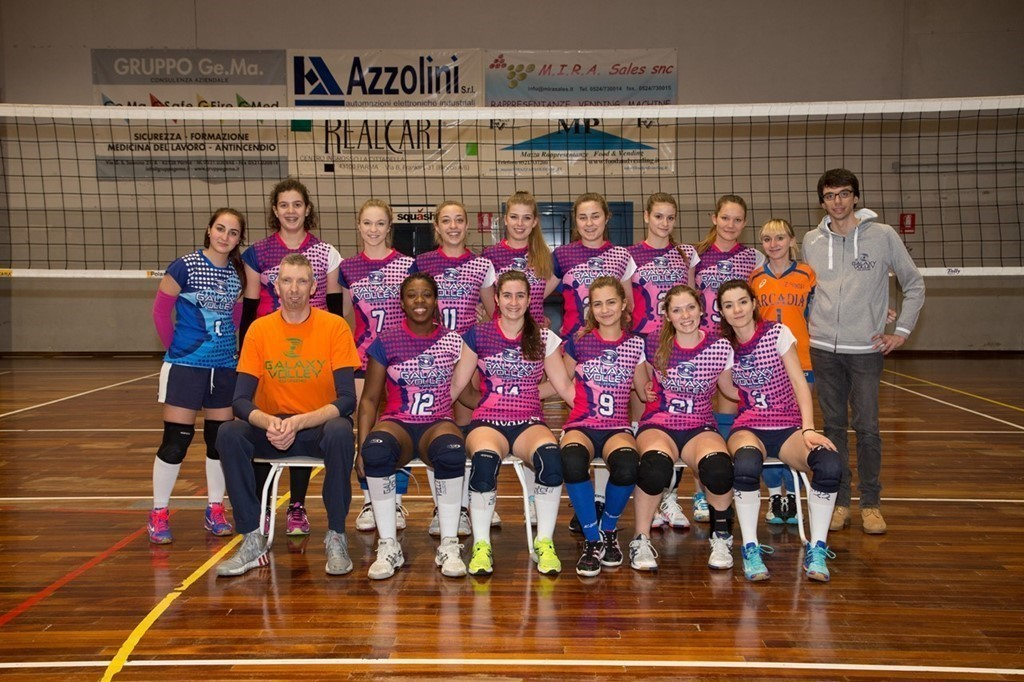 Seconda Divisione - Galaxy Volley Arcadia 2016 / 2017