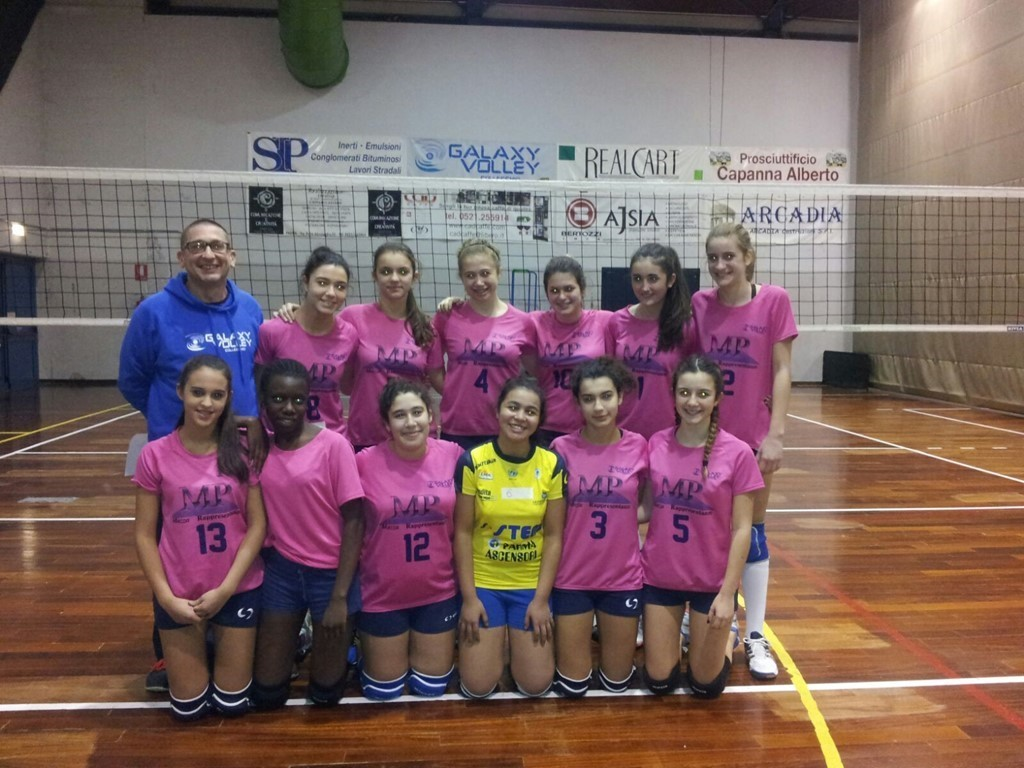 Allieve Csi - Galaxy Volley M.P. 2015 / 2016