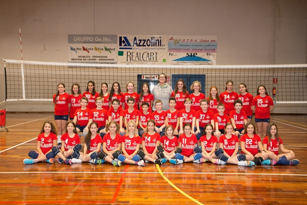 Under 12 - Galaxy Volley Azzolini 2016 / 2017