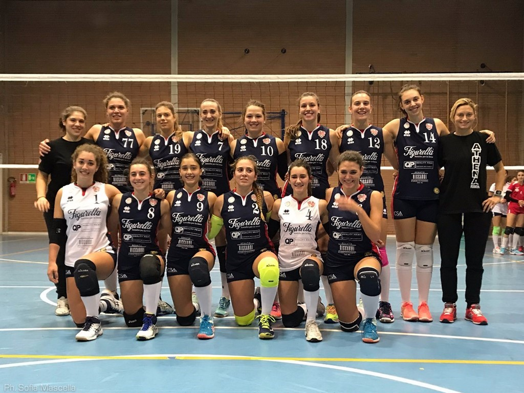 1DF ATHENA RIMINI VOLLEY 2017 / 2018