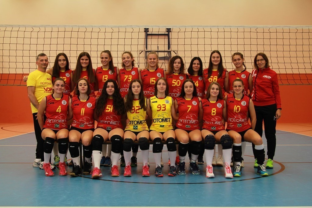 AS Volley Rotomet U16 Rossa 2019 / 2020