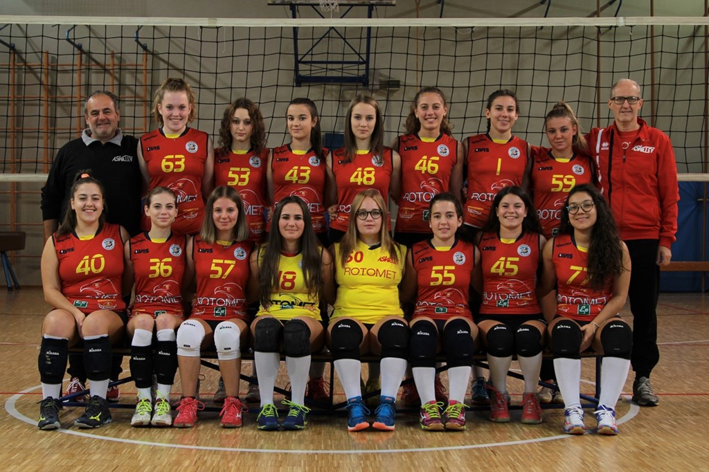 AS Volley Rotomet U18 2019 / 2020