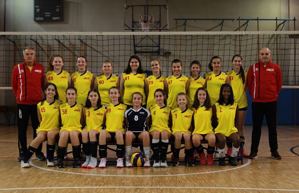 AS Volley Auxilium U14 Gialla 2019 / 2020