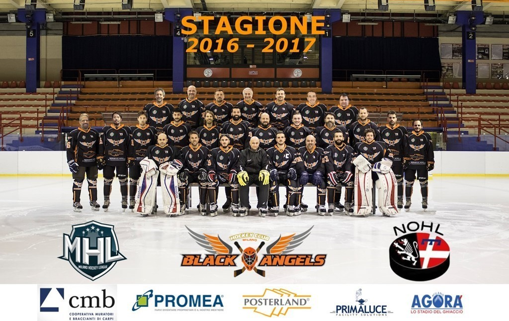 HC BLACK ANGELS Milano 2017 / 2018
