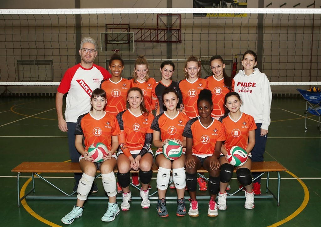 U18 New Volley Piace Volley 2019 / 2020