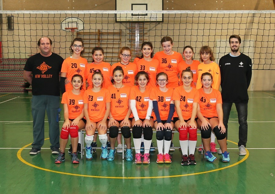 U13 New Volley Piace Volley 2018 / 2019