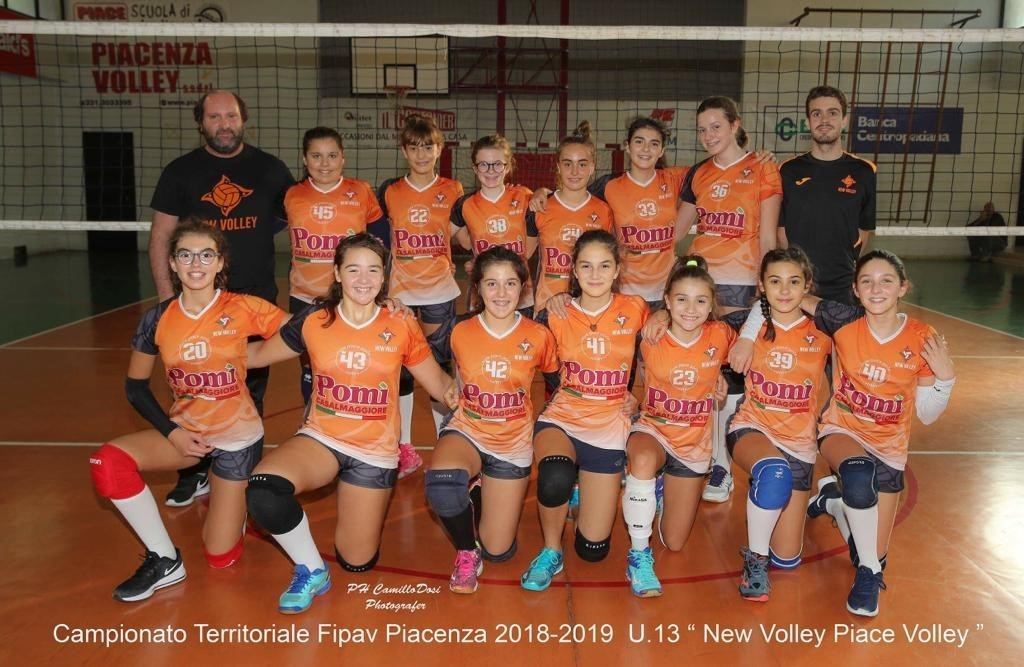 U14 New Volley Piace Volley 2018 / 2019