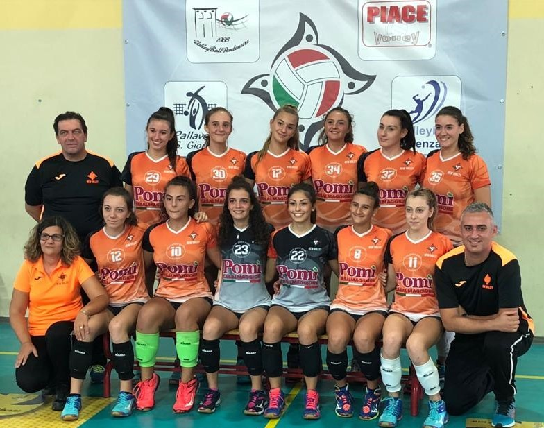 U18 New Volley San Giorgio 2018 / 2019