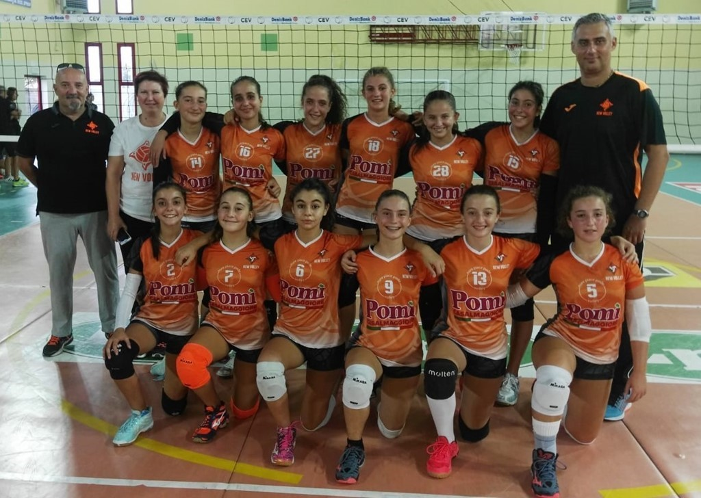 U16 New Volley Pontenure 2018 / 2019