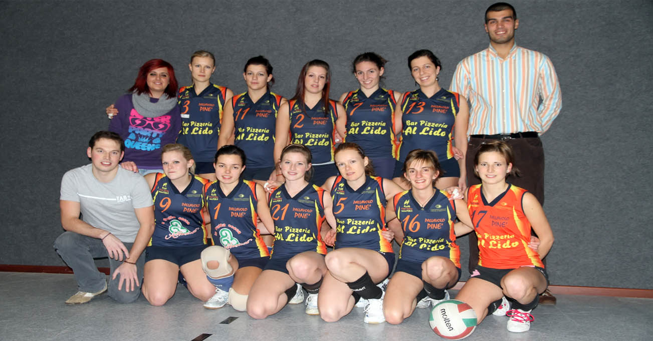 2 DIVISIONE PINE' VOLLEY 2010 / 2011