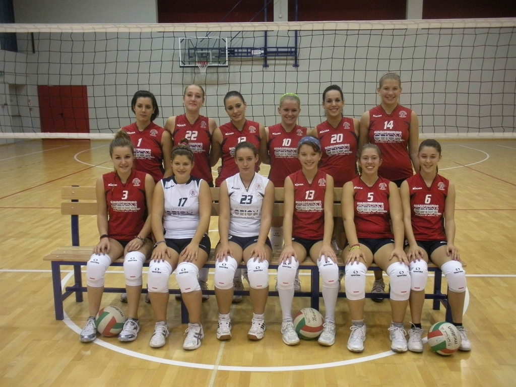 UNDER 16 femminile Agna Volley 2012 / 2013