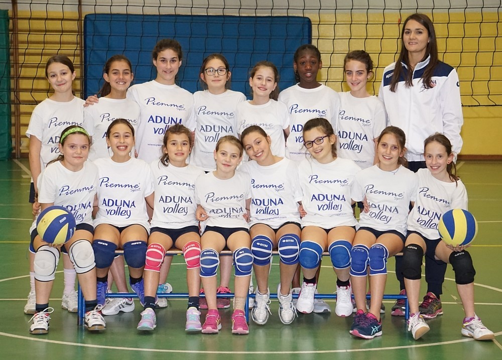 F/UNDER 12 - ADUNA Volley Albignasego 2016 / 2017