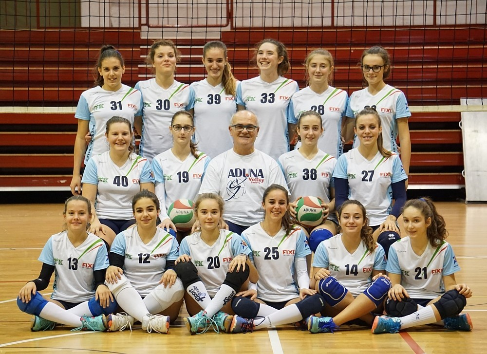 F/UNDER 14 - DUE STELLE / ADUNA Volley PD 2016 / 2017