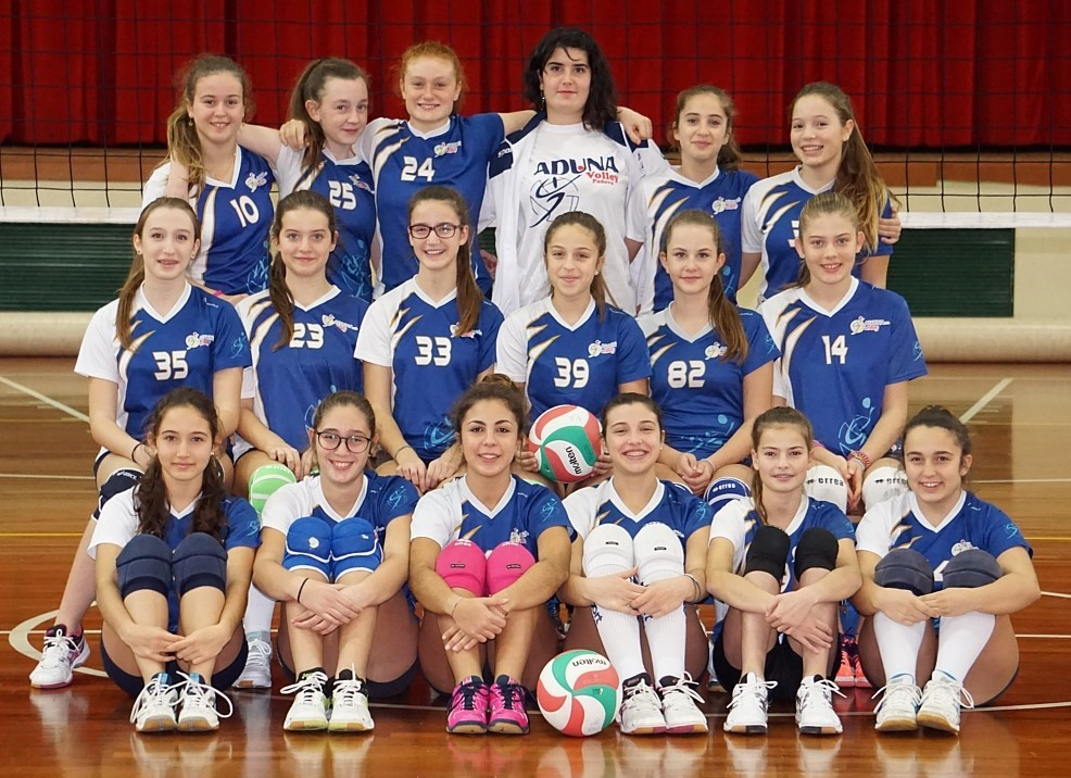 F/UNDER 14 - ADUNA Volley Albignasego 2016 / 2017