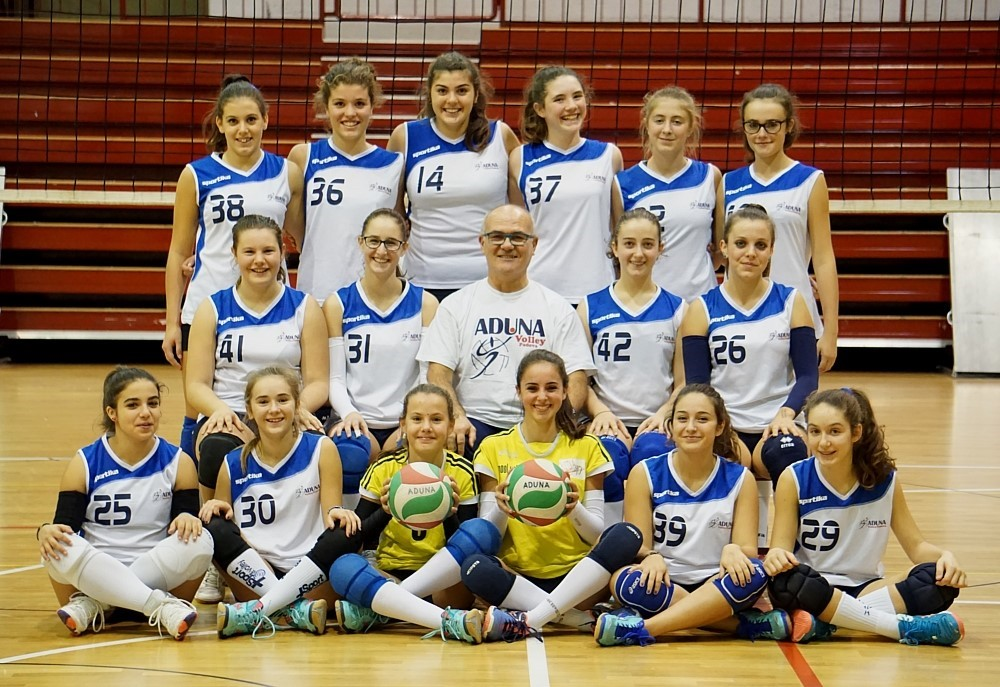 F/UNDER 16 Junior - ADUNA Volley PD / DUE STELLE 2016 / 2017