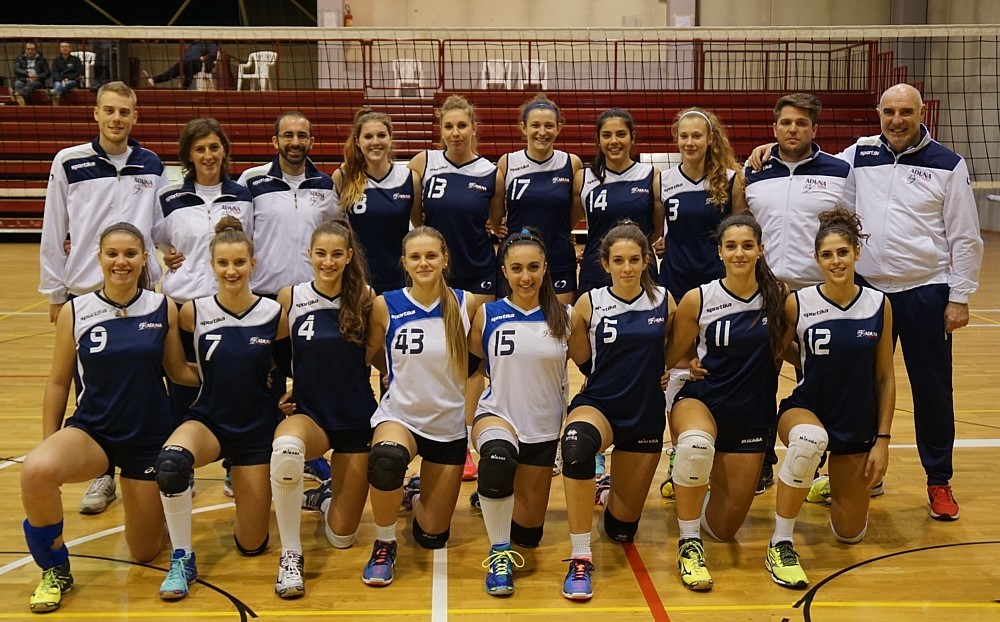 F/UNDER 18/C - ADUNA Volley Padova 2016 / 2017
