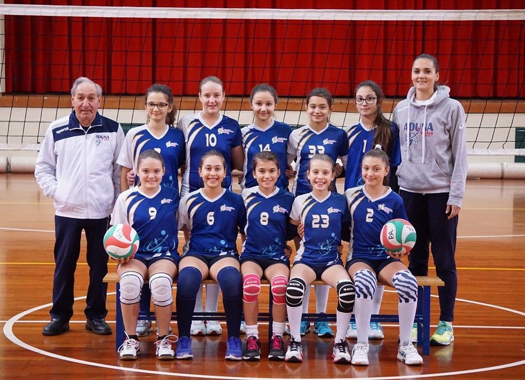 F/UNDER 12 - ADUNA Volley Padova 2017 / 2018