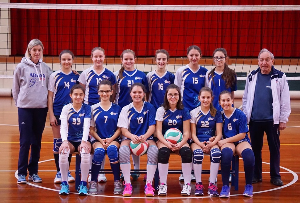 F/UNDER 13 BIANCA - ADUNA Volley Padova 2017 / 2018