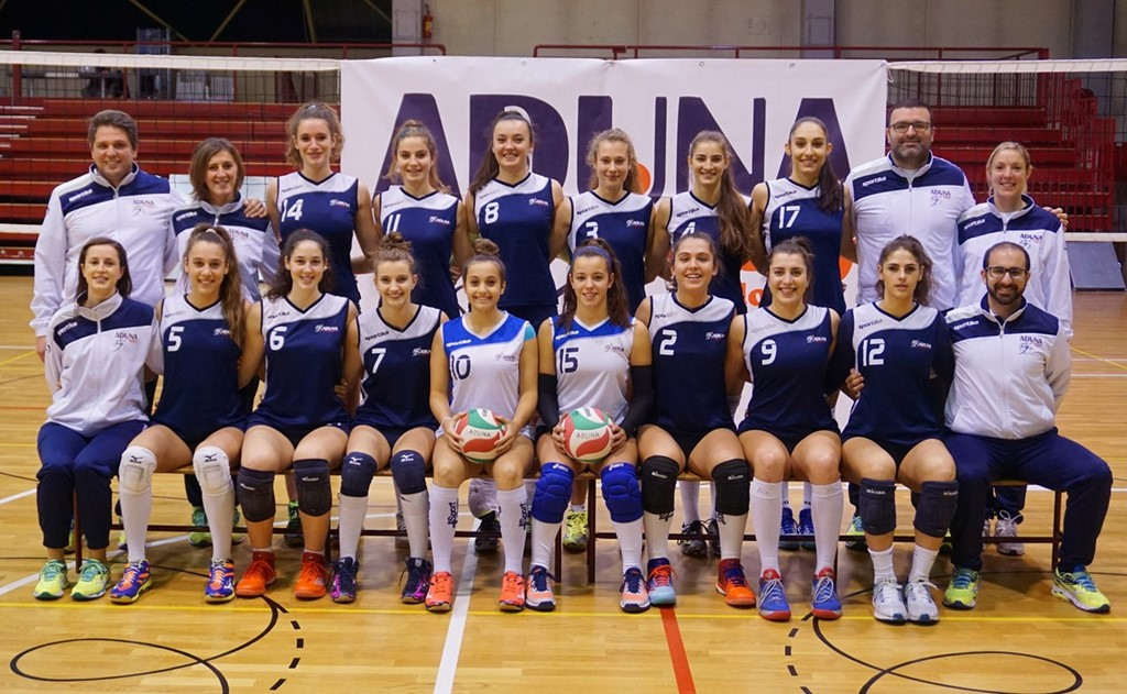 F/UNDER 18 - ADUNA Volley Padova 2017 / 2018