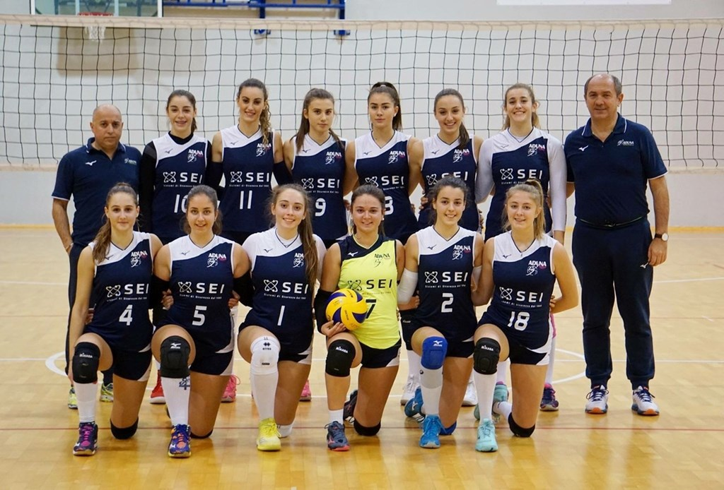 F/UNDER 16 - SEI Aduna Volley Padova 2018 / 2019